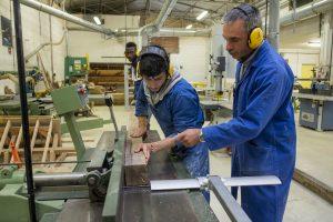 Bac pro ouvrage du bâtiment métallerie au campus St-Lubin de Caussade